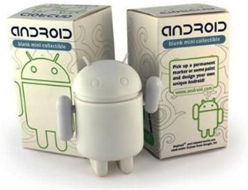 el mas de moda Android Mini Mini Mini Collectible Figure 3  - Blank blanco for DIY Android Robot by Android  mas barato