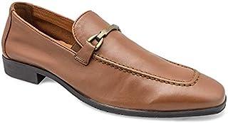 tresmode Men's Dustel Black Formal Shoes