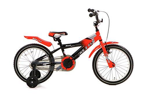 Popal Bike 2 Fly Kinderfiets met zijwieltjes in 12 en 16 inch in verschillende kleuren Voor kinderen van 3 tot 6 jaar