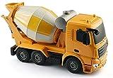 WANIYA1 Control remoto Coche 1/26 Gran RC Camión de ingeniería Concreto Mezclador de cemento de concreto Carga eléctrica Niños Juguete 2.4G RC Mezclador de cemento para niños Boys RC Regalo de juguete