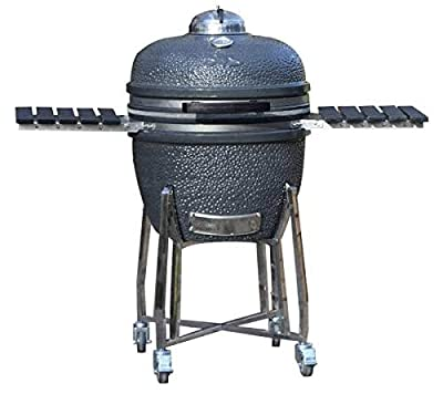 Adrenaline Barbecue Company Slow 'N Sear Deluxe Kamado Charcoal Grill Ceramic Smoker from SnS Grills