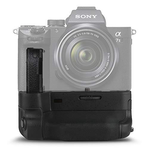 subtel® VG-C2EM Impugnatura/Presa Batteria Compatibile con Sony A7 II ILCE-7M2 Alpha 7 II, A7R II ILCE-7RM2 Alpha 7R II, A7S II ILCE-7SM2 Alpha 7S II Presa Verticale, Battery Grip