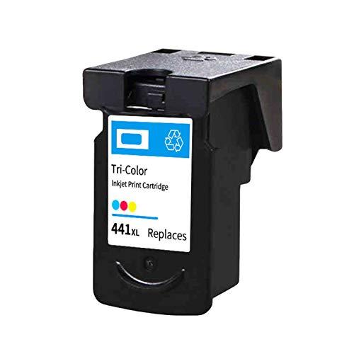 Cartuchos de tinta PG440 CL441 de alto rendimiento de repuesto para Canon MX374 394 MG2140 2240 3140 Negro y Color Cartucho de color