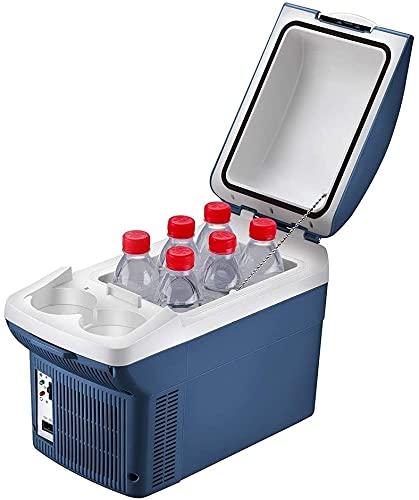 TANKKWEQ Frigorífico Portátil Refrigerador Compacto Cooler TORRES COMPACTO TOR MINI FRIGH FRIGH FRIGHT 8L-COOLADORÍA COOLOREO ELECTRÁNICO DEL ELECTRICO CON TECNOLOGÍA DE ENFRIAMIENTO PARA PICNICAS, BB