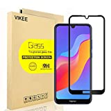 [2-Pack] VIKEE Screen Protector for Huawei Honor 8A, HD Anti-Scratch Anti-Fingerprint No-Bubble 9H Hardness Tempered Glass with Lifetime Replacement Warranty [Black]