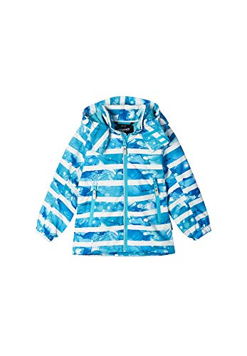 Reima Kids Fasarby Reimatec Jacket Blau, Regenjacke, Größe 110 - Farbe Aquatic