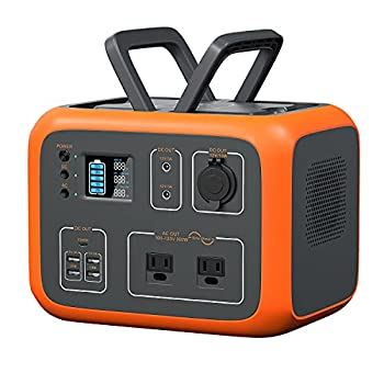 MAXOAK Power Station 500Wh Solar Generator Bluetti AC50S Wireless Charging Battery Backup for Outdoor Tailgating Camping RV Trip Power Outage Dual AC Outlet,Pure Sine-Wave,PD 45W USB-C LED Lighting …