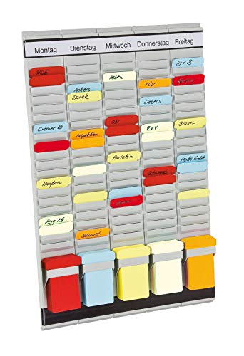 Franken PV-SET1 T-Kartentafel Office Planer, 31,5 x 49 cm, 20 Schlitze