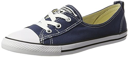 Converse Damen CTAS Ballet Lace-Slip-Navy-Women on Sneaker, Blau (Navy 410), 36 EU