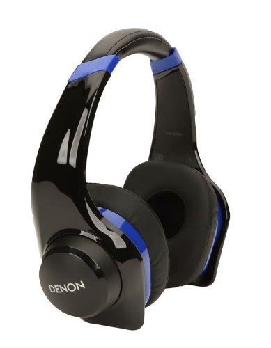Denon AH-D321 UrbanRaver On-Ear-Kopfhörer schwarz/blau