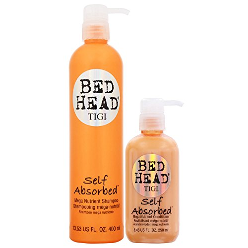 Tigi Bed Head Self Absorbed Shampoo and Conditioner 25.36 Oz Combo Pack