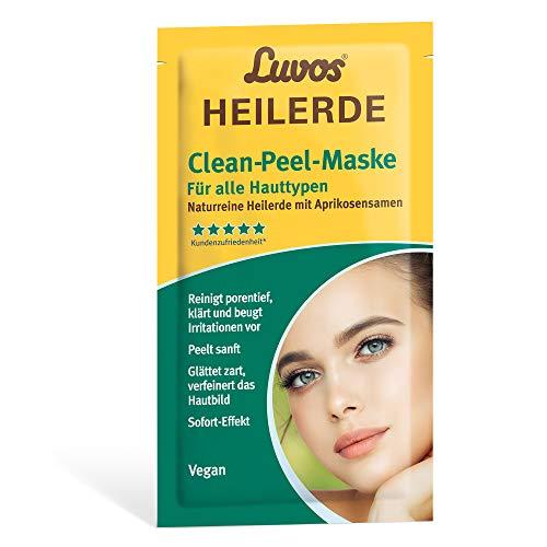 Luvos Heilerde Clean-Peel-Maske, Aprikosensamen, 2 x 7,5 ml