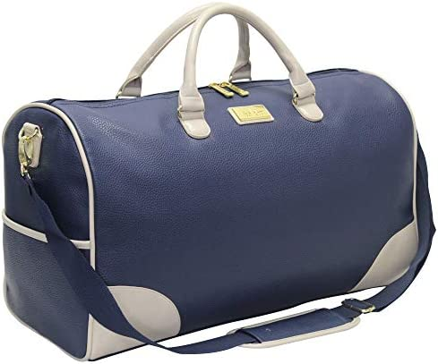 Nicole Miller New York Designer Duffel Bag Collection Lightweight 21 Inch Travel Tote for Men product image