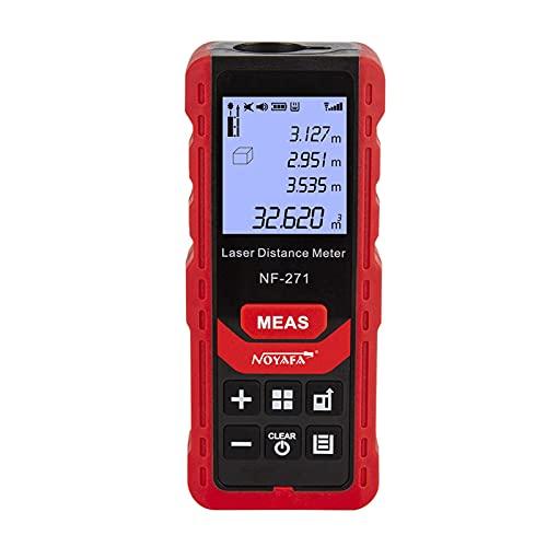 Ticfox Noyafa NF-271 Medidor de distancia 50M/70M Telémetro Cinta Medidor de rango Medidor(50m)