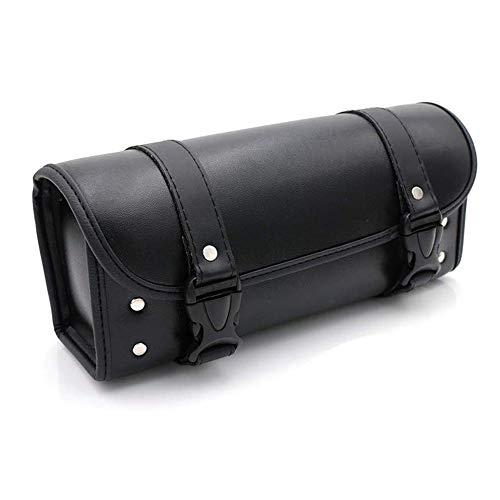 Bolsas de Moto, Bolsa de Herramientas de Cuero de PU Alforja - Negro