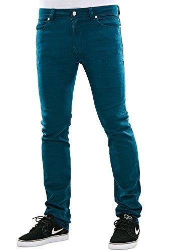 Reell Jeans Pants Men Skin Slim Fit, Tundra Blue 34/34 Artikel-Nr.1100-1001