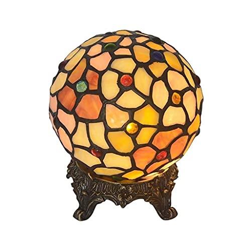 Glasmalerei Stil Tischlampe, Tischlampe,...