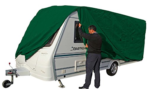 Green Breathable Caravan Covers Fits 7 - 7.6m 23/ 24/ 25 ft