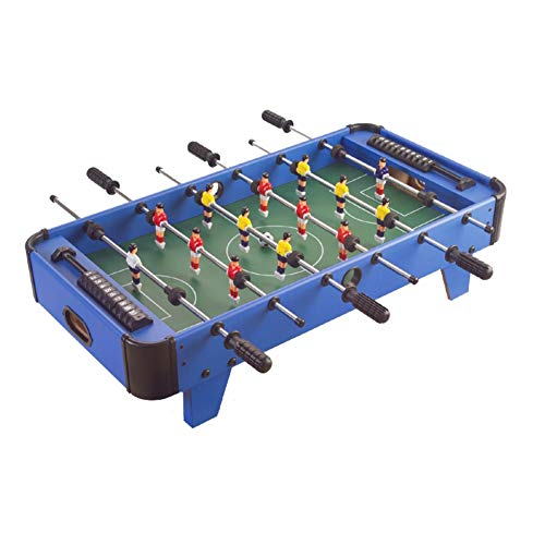 Save %23 Now! TriGold Mini Foosball Table for Kids,Easily Assemble Football Table with Balls,Tabletop Soccer Game for Home Party Family Night D