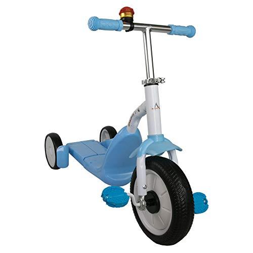 Airel Monopattino 2 in 1 | Monopattino per Bambini | Scooter 3 Ruote 2 in 1 | Bici Senza Pedali | Monopattino Bici Bambino