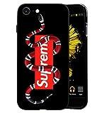 Toxdi GG Logo iPhone 7/8 Plus Funda, Carcasa Silicona Protector Anti-Choque Ultra-Delgado Anti-arañazos Case Caso para Teléfono iPhone 7/8 Plus (GG03)