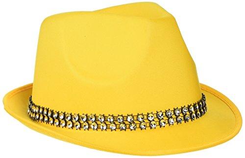 Rire Et Confetti - Fiedis060 - Accessoire pour Déguisement - Chapeau Fun Jaune
