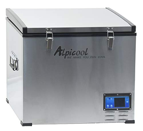 Compass 07098 ALPICOOL Big Fridge - Nevera con compresor (60 L, 230/24/12 V, -20 °C)