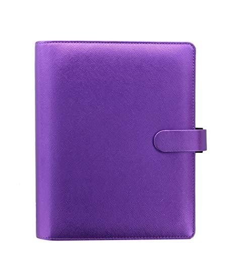 Filofax - Agenda A5 Saffiano viola metallizzato