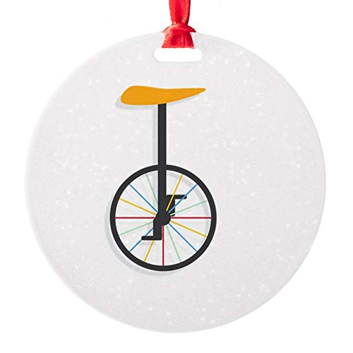 Unicycle Ornament