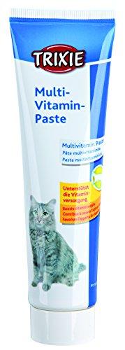 TRIXIE Multivitaminas en Pasta para Gatos, 100 g, Gato