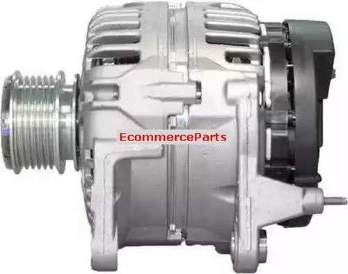 Alternador Bosch Ecommerceparts. Voltaje: 12 V. Alternador. Corriente de carga: 90 A. ID. Tipo de enchufe: PL61. Diámetro: 55,5 mm. Número de ranuras: 6. Versión: 301446RIB 9145375143684.
