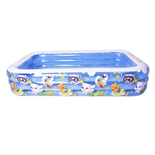 Kaufen aufblasbare Planschbecken for Baby, Inflatable Hot Tubs Pool Home Garten Travel Tragbarer Tubs Pools for Babys, Kinder, Erwachsene, Outdoor, Garten, Hinterhof 1yess (Size : 262 * 175 * 60cm)