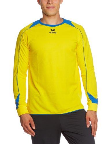 erima Trikot Santiago Langarm - Camiseta de equipación de fútbol para niño, Color Amarillo, Talla XL