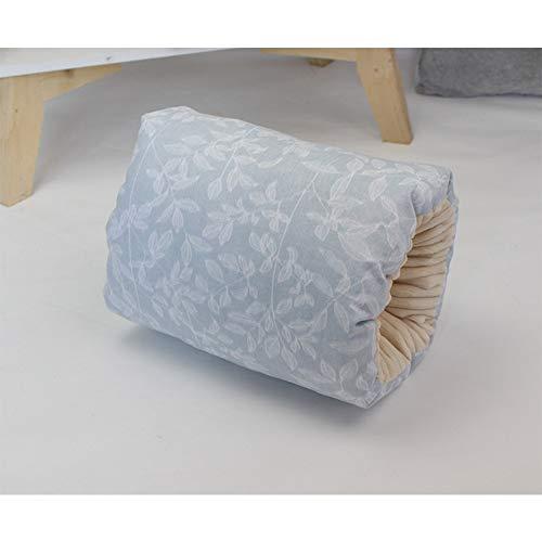 Lanlan Breastfeeding Pillow Nursie Breastfeeding Pillow, Baby Cotton Nursing Arm Pillow Breastfeeding Washable Arm Pillow Cushion Gray Small Leaves