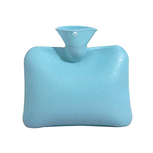 GGsheng Wärmflasche, farbige Wärmflasche mit Naturkautschuk mit sicherem L