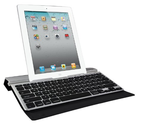 iHome Type Series: Smart Type Univeresal Full-Size Bluetooth Keyboard with Smart Cover for all iPads, Silver