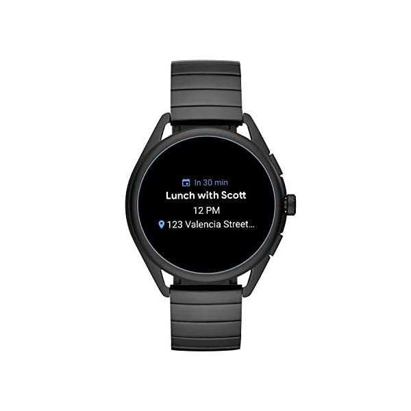 Emporio Armani Smartwatch 3, Powered with Wear OS by Google with Speaker, Heart Rate, GPS, NFC and Smartphone Notifications