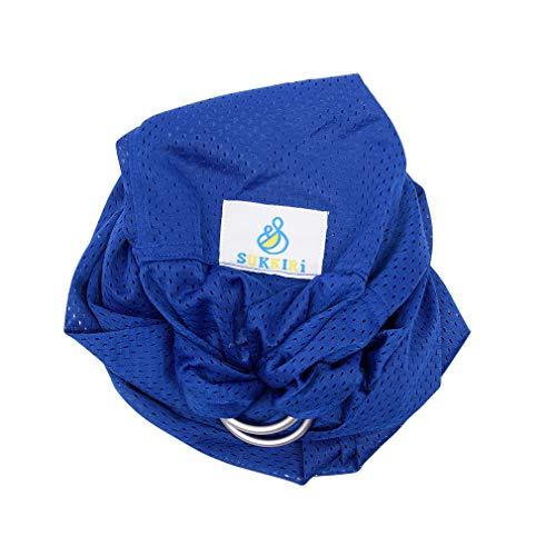 LUCKY Sukkiri Porte Bébé Bleu