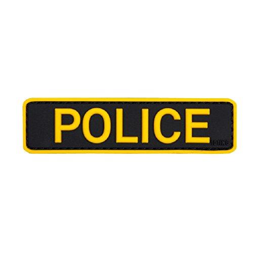 Patch Aufnäher Police Polizei Politie Einsatz Spezialeinheit Wachmeister Sek Klett Militär Abzeichen Emblem 2,5x9cm #20285