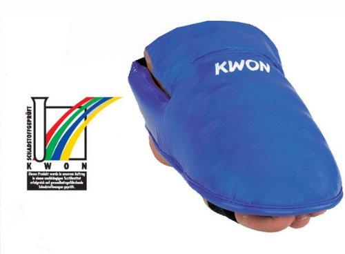 KWON Karate Fußschutz CE L rot