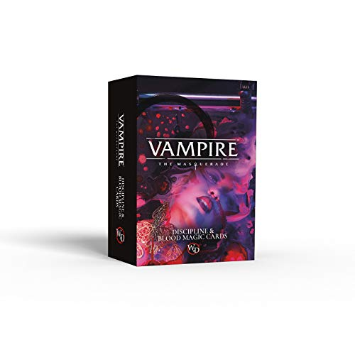 Modiphius Vampire - The Masquerade - Discipline and Blood Magic Card Deck