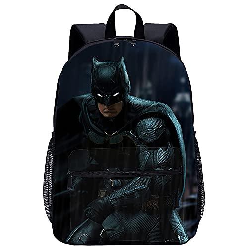TanDong Cool Bookbags Borsa Da Scuola Stampata In 3D Batman V Superman Dawn Of Justice Unisex Campeggio/Bbq/Famiglia Attività All'Aperto Borsa Per Laptop Zaino Casual