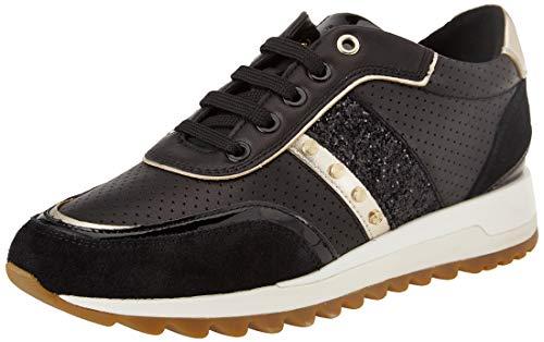 Geox D TABELYA B, Zapatillas Mujer, Negro, 37 EU