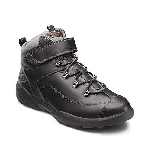 Dr. Comfort Ranger Men's Therapeutic Diabetic Extra Depth Hiking Boot: Black 13 X-Wide (3E/4E) Lace