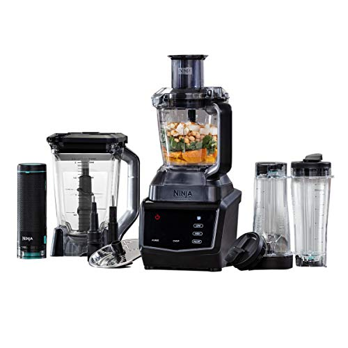Ninja Blender and Food Processor [CT670UKV] Smart Screen Blender,...