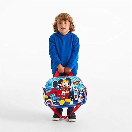 Disney Mickey Winner Borsa da viaggio Multicolore 40x28x22 cms Poliestere 24.64L