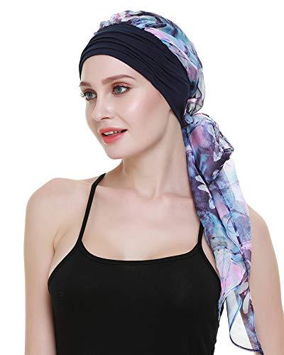 FocusCare Chemo turbane für Krebs - Patienten Headwrap schals alopezie Frauen Kopfbedeckung