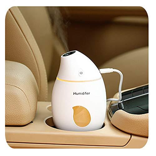 Luftbefeuchter Humidifier Heiß Spray Dampf Maschine Sprayer Diffuser Ultraschall Vernebler Raumbefeuchter Nano-Dämpfende Zerstäuber Instrument Luftreiniger Hause Büro Auto Aufladungs Nachtlicht USB