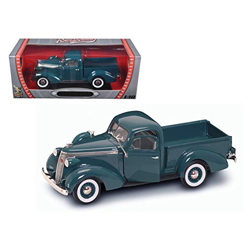 92458GN Yatming - Studebaker Coupe Express Pick Up (1937, 1/18 Scale mh20k3qga diecast Model car, Green) 92458 diecast 5l20w290 car Model 92458GN Road Signature/YATMING - 193