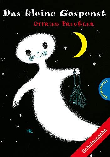 Das kleine Gespenst | Schulausgabe mit großer Schrift und schwarz-weiß illustriert, als Lektüre für die Grundschule (Klasse 2–3) geeignet